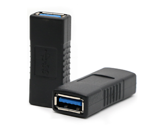 USB 3.0 Type A Female to Female Connector Adapter Coupler Gender Changer Joiner