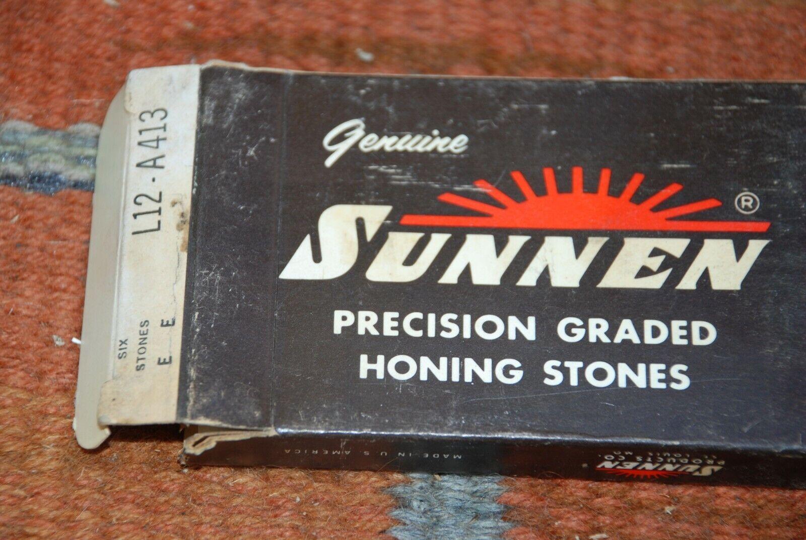 Sunnen Precision Honing Stones L6-A67 Box of 12 New Stones