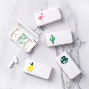 3-Gitter-Ravel-Tabletten-Mini-Box-Organizer-Medizin-Spender-Sammelbehaelter-PuIyg