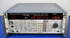 Rohde Amp Schwarz Esh3 Automatic Test Receiver 9khz 30mhz