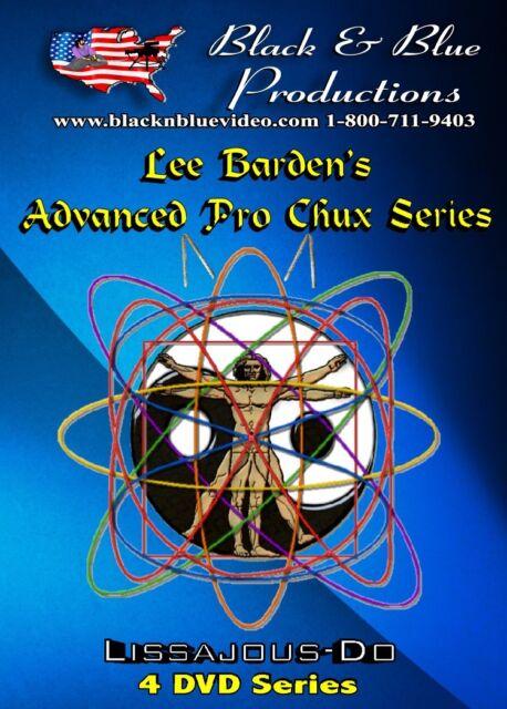 All 4 Lee Barden Advanced Pro Chux Nunchaku Instructional DVDs