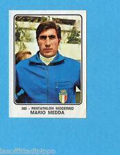 CAMPIONI dello SPORT 1973/74-Figurina n.382- MEDDA - ITALIA -PENTATHLON-Rec