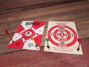 Vintage 1960 S Magnetic Baseball Fruits Of The Spirit Dart Game