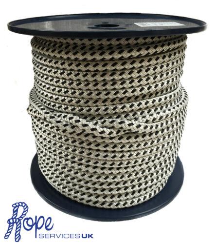 geflochten auf Biese doppel-geflecht Marine Polyester Halyard Seil 12mm x 60