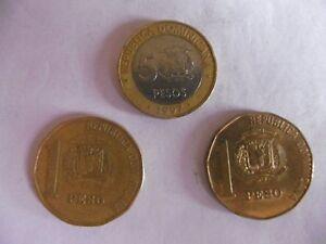 (a8 1)-republique Dominicaine-lot De 3 Pieces