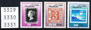 DDR 1990, 150 Jahre Briefmarken, Satz kompl., postfrisch - Flöha, Deutschland - DDR 1990, 150 Jahre Briefmarken, Satz kompl., postfrisch - Flöha, Deutschland