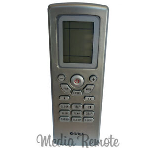 Details about Air Conditioner Remote Control for GREE YT1F YORK  DCPM12CSM41Q1 DCPM24NWM42Q1