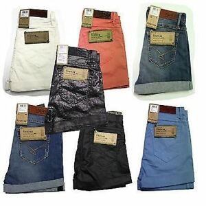 Ladies-Womens-Firetrap-Sally-Denim-Hotpants-Shorts-6-7-8-9-10-11-12-13-14