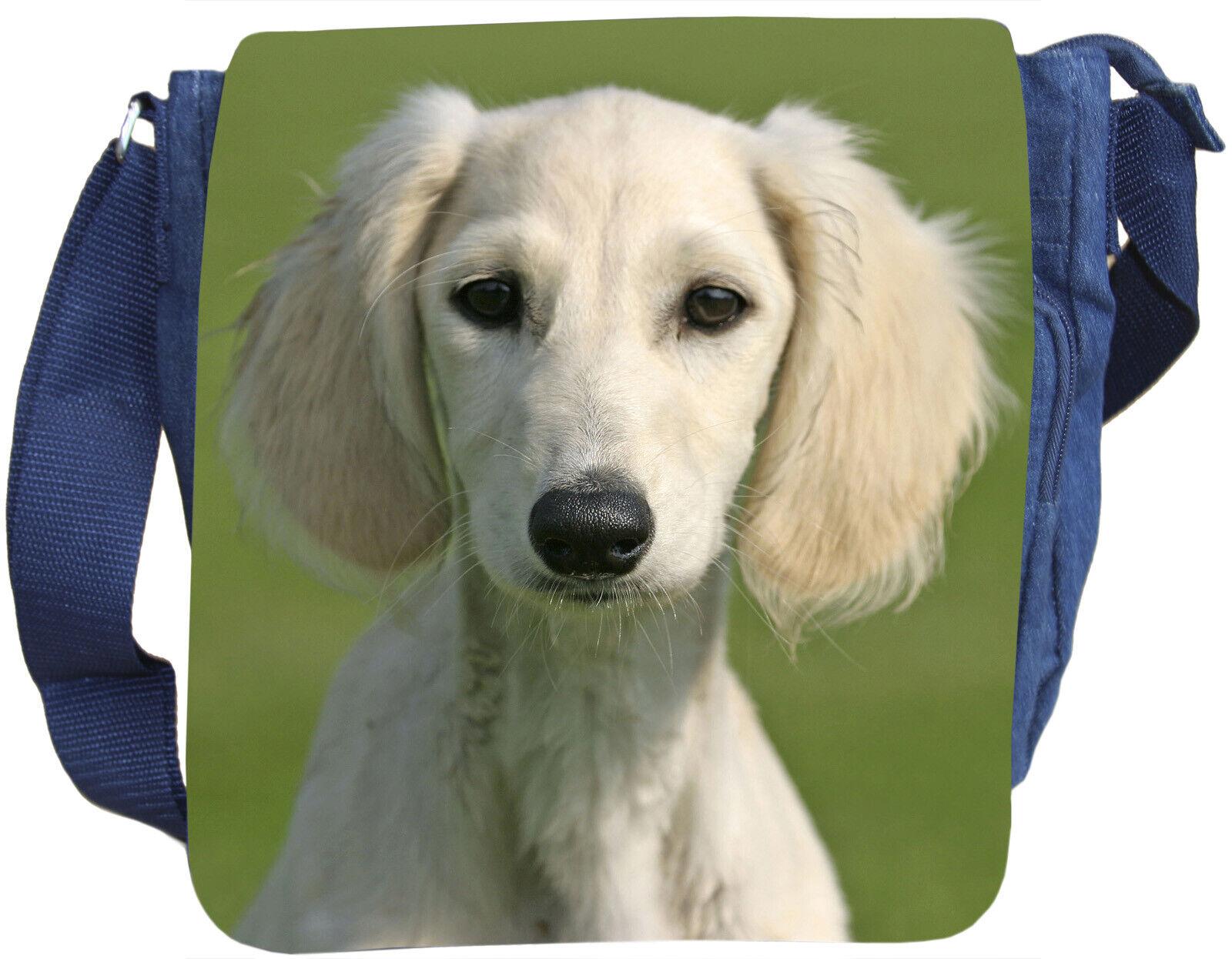 SALUKI Windhund - SCHULTERTASCHE Tasche Tasche Tasche Umhängetasche JEANS Baumwolle - SLI 04 |  Neuer Markt  | Viele Stile  | Gewinnen Sie hoch geschätzt  dae71b