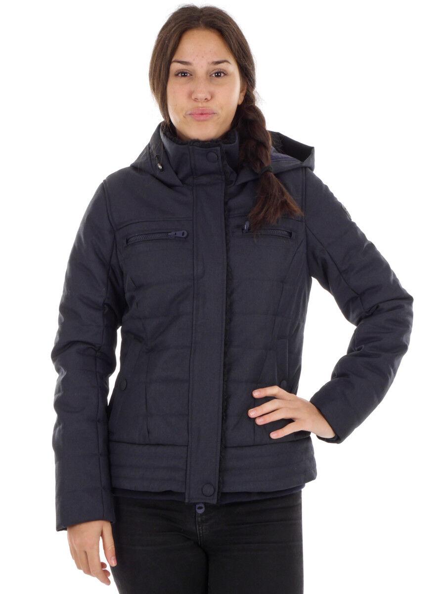 CMP vellón función chaqueta Hoodie-Jacket azul impermeable
