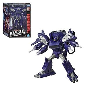 personaggio TRANSFORMERS kingdom shockwave action figure giocattolo