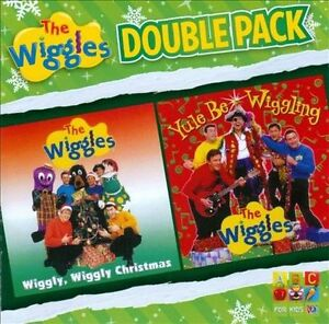 THE-WIGGLES-Wiggly-Wiggly-Christmas-Yule-Be-Wiggling-2CD-BRAND-NEW