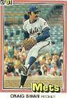 1981 Donruss Craig Swan #155 Baseball Card