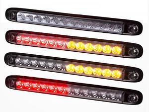 10x G LED LKW Begrenzungsleuchten 12V//24V Positionsleuchten Anh/änger Rot Wei/ß