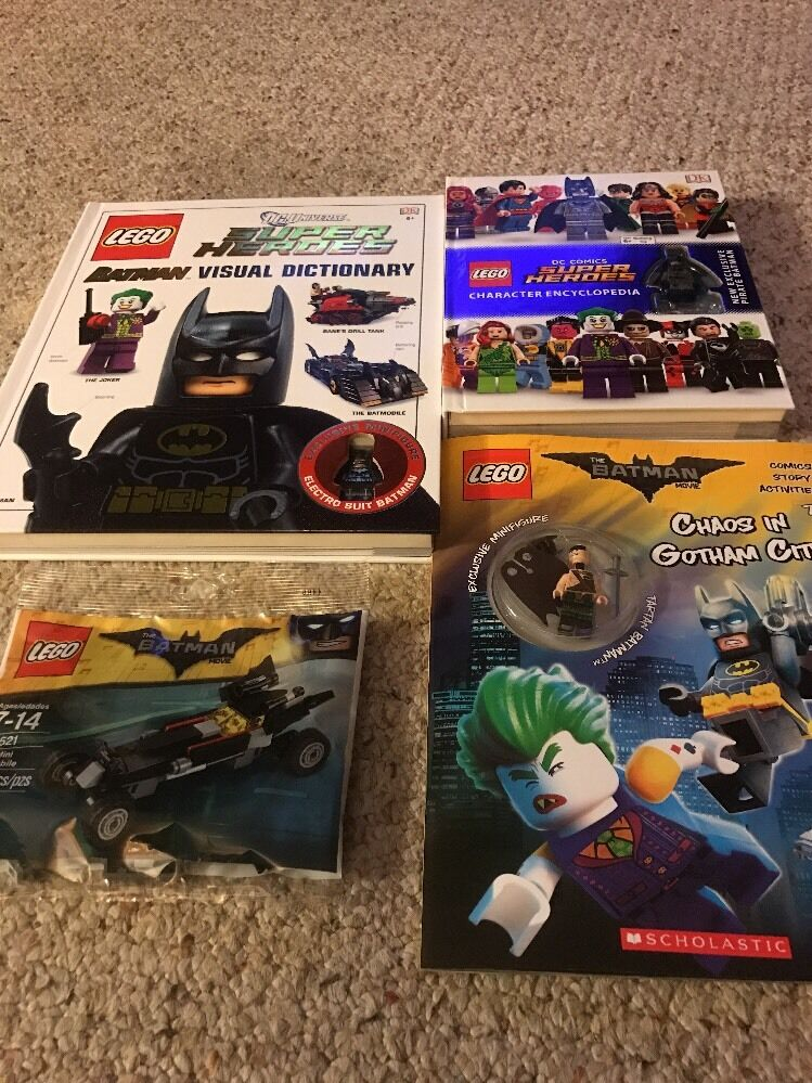 Lego 30521 Batman Lot DC Super Heroes mini Batmobile Electro Pirate Tartan
