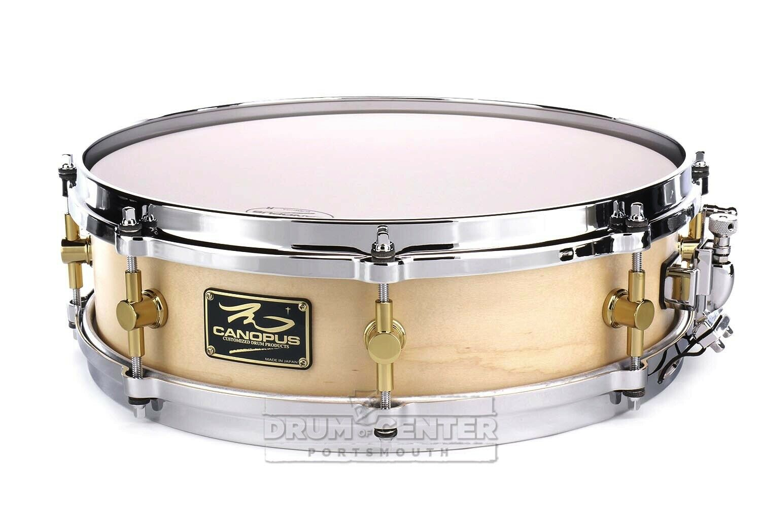 Canopus 'The Maple' Snare Drum 14x4 w  Cast Hoops Oil - M-1440-O