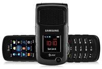 Samsung Rugby 2 II A847 3G GSM Rugged Flip Camera Phone Black UNLOCKED AT&T