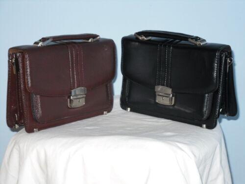 Una mano a spalla pochette borsetta organizer da viaggio borsa a mano in Nero//Marrone,