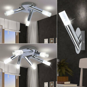 luxe led mural lumi res int rieur couvrir couloir lampes chrome spot bulles ebay. Black Bedroom Furniture Sets. Home Design Ideas