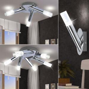 Design led decken lampen schlafzimmer wand strahler luftblasen leuchten silber ebay - Led lampen wand ...