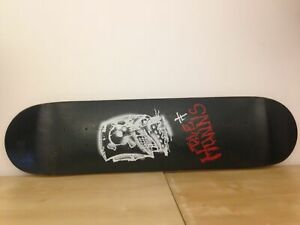 Limited-Edition-Rock-Band-Memorabilia-Die-Hunns-Skate-Deck-Ex-Shop-Display