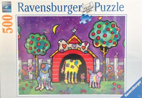 Puzzle 500 DOGS at Twilight Ravensburger 14689 NEUF