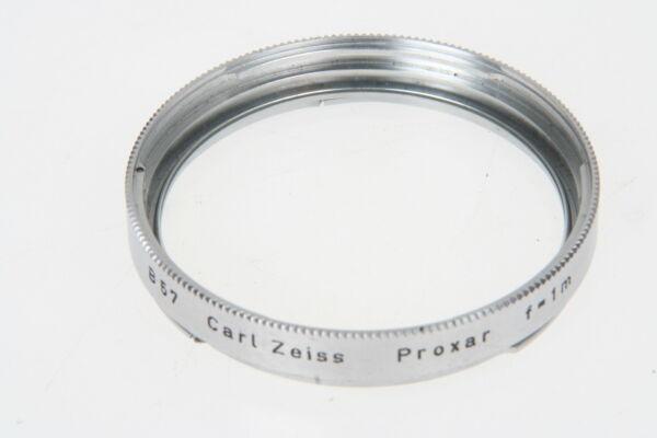 100% De Qualité Carl Zeiss Proxar F = 1 M Pour Hasselblad B57
