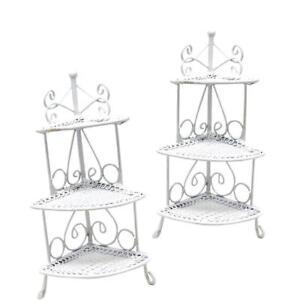 1-12-Scenery-Model-Puppenhaus-Zubehoer-Mini-Dreieck-Blumenstaender