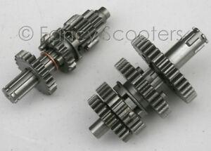 POCKET-BIKE-DIRT-BIKE-50-125CC-SEMI-AUTO-ENGINE-TRANSMISSION-MAIN-COUNTER-GEARS