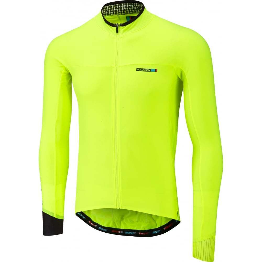Madison RoadRace Light Mens Adults Long Sleeve Cycle Cycling Bike Jersey