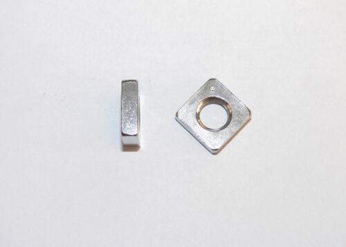 m10 Acier Inoxydable écrou carré m6 Plat vierkantmuttern m5 DIN 562 m8