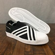 e969c7004d02 Adidas White Mountaineering Superstar Slip On PK Primeknit BY2880 Mens Size  10.5