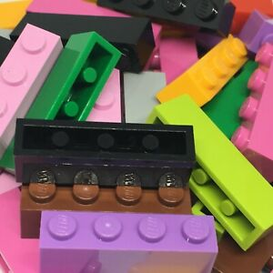New-Lego-40-1x4-Brick-3010-Choose-Your-Colour-Grey-Blue-Red-Yellow-etc