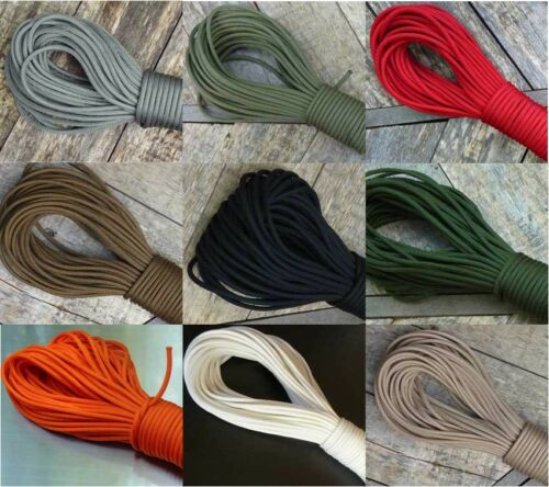 750 Paracord 250 ft Military Mil C 5040h Pia C 5040 Type 4 Nylon Parachute Cord