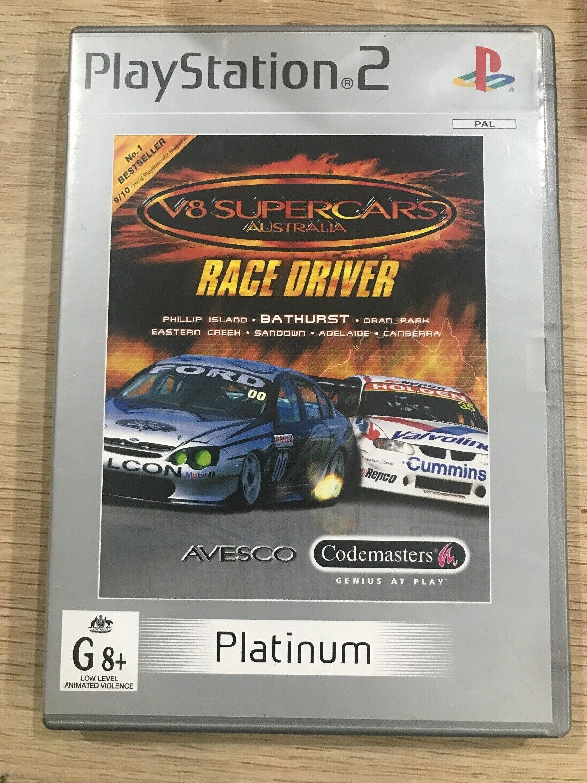 V8 Supercars Race Driver Sony Playstation 2 2002 For Sale Online Ebay
