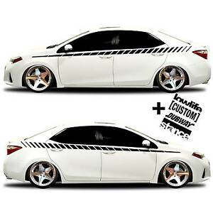 Vinyl Body GRAPHICS Stripes Car Truck Sticker Decal Decals - Decal graphics on vehiclescar graphicracing flag free decals shinegraffixcom
