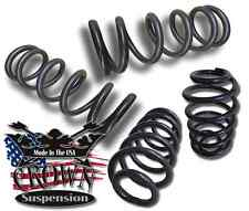 "1""/ 2"" Lowering Coils Springs Drop Kit Fits 1992-1996 Caprice Impala Roadmaster"