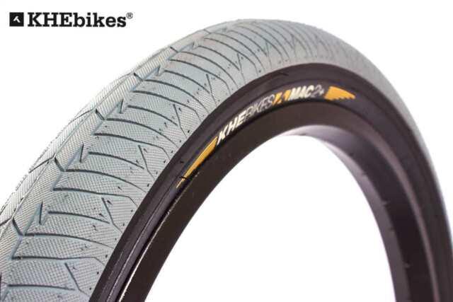 "Street Park 20 /"" Inches X 2,30 /"" Grey Black Only 19.4oz KHE BMX Tyre MAC2"