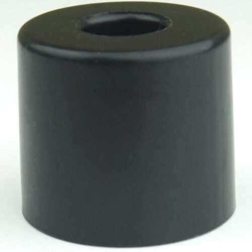 4 Gummifüße Ø 38 x 33 mm Stahleinlage Adam Hall 4913 Gerätefuß Möbelfüße Gummi