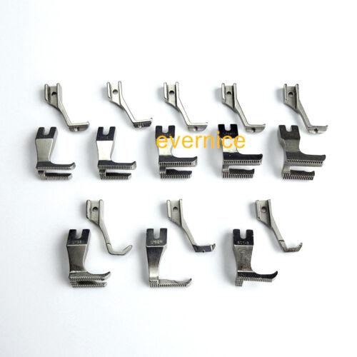 DB2-B798 8 sets Walking Piping /& Welting Zipper Feet for BROTHER DB2-B797