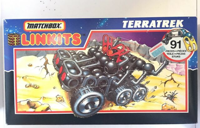 Boxed Matchbox Linkits Terratrek Vintage Construction Toy