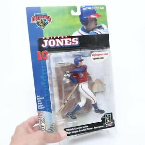 CHIPPER JONES Big League Challenge Series McFarlane Baseball Figure Red Jersey