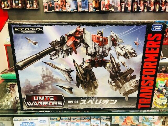 Transformers TAKARA TOMY unire Guerrieri UW-01 Superion