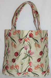 Tulpen Blumen Einkaufsbeutel Tasche Gobelin Einkaufstasche Tapestry Bag
