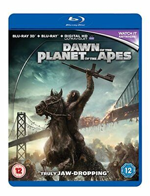 Dawn Of The Planet Of The Apes [Blu-ray] [DVD][Region 2 ...