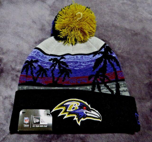 cb6500131b6 New Era NFL Minnesota Vikings Winter Beachin Cuffed Knit Hat with Pom - NEW!