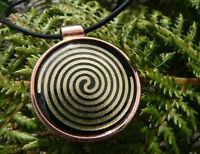 Life Energy Nu-me Emf Copper Pendant Necklace