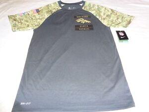 Denver Broncos NFL Salute to Service Onfield Nike Dri-Fit Shirt Mens ... c6775db40