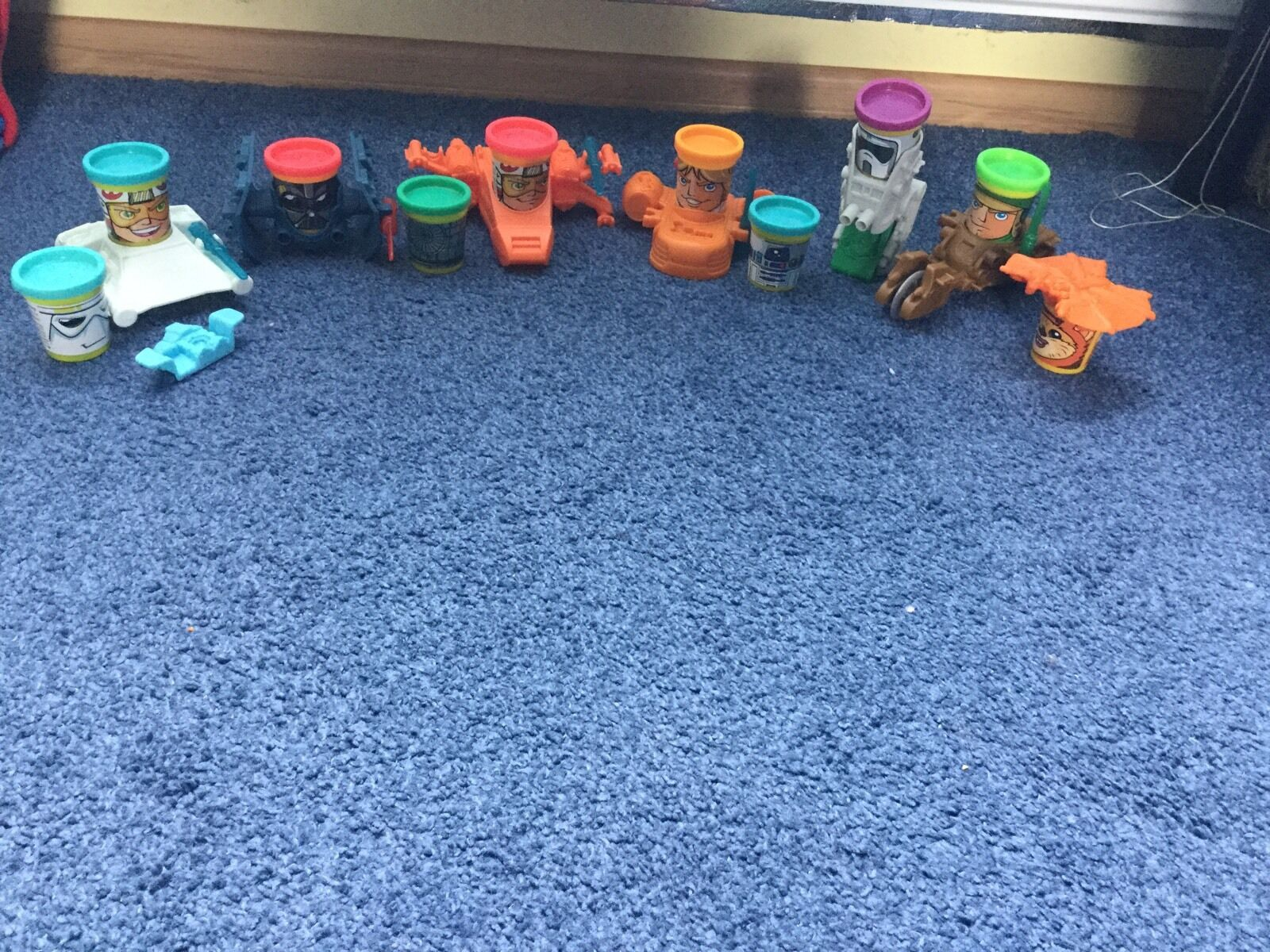 Play Doh Star Wars Can-Heads JOB LOT ,GREAT BUY