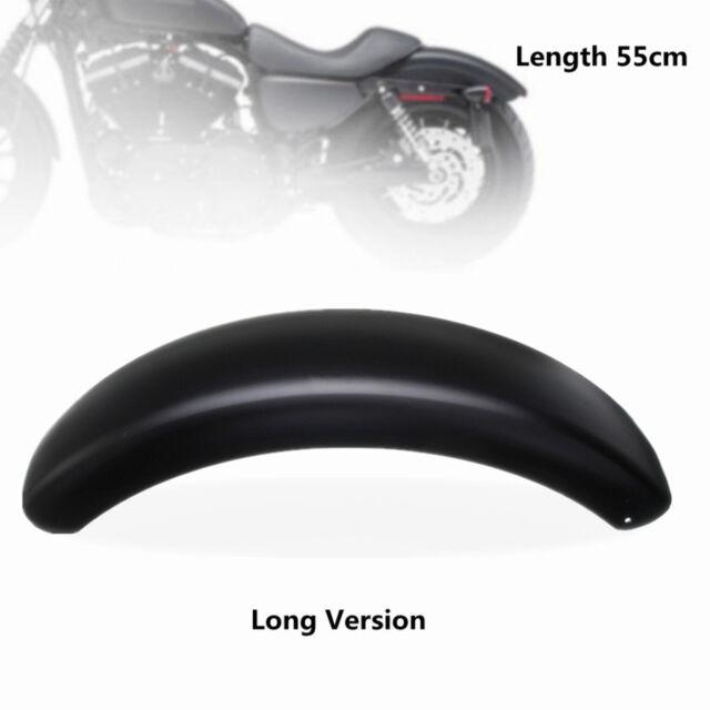 Black Motorcycle Rear Wheel Steel Trailer Fender Fit For Harley Bobber Chopper